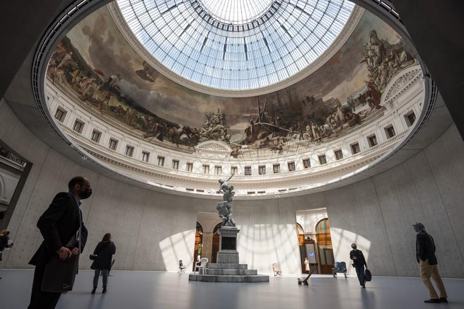 Visite de la Collection Pinault à la Bourse du Commerce de Paris